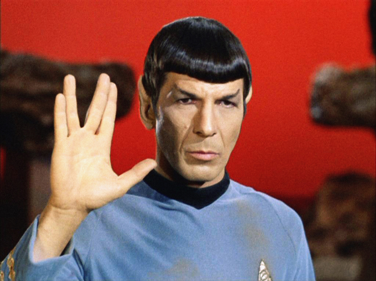 Saturday Night Seminar: Star Trek's Mr. Spock spoke of an issue we face even today