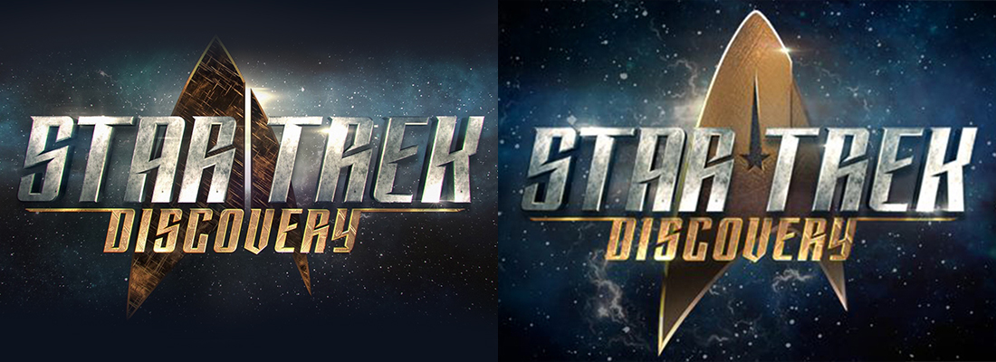 star trek discovery logo re design